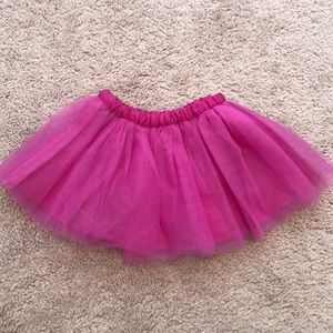 Gymboree Hot Pink Girls Tutu Skirt 12-18 months